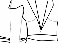 Draft of clothes an body