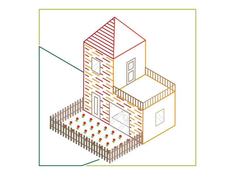 L like lines and living living lines graphic design artwork adobe illustrator illustration vector