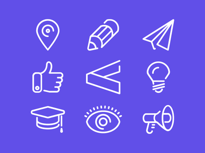 Linecons icons icon iconography creativity