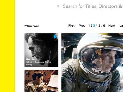 flixfilms ux ui web design web design educational directory catalogue imdb movies cinema kino