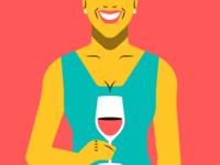 Feria de Murcia — Young woman