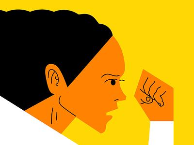 Gala de las mujeres deportistas illustration ilustración vector woman mujer run correr sport deporte madrid