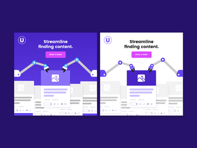UpContent - Social Media Ads ad design