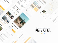 Flare Ui Kit And Interactive Prototype