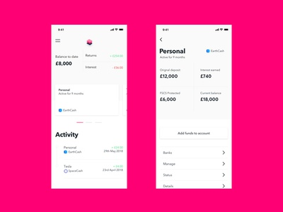 Stack — Home and Product Page