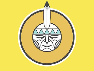 I Indien picto illustration character design alphabet