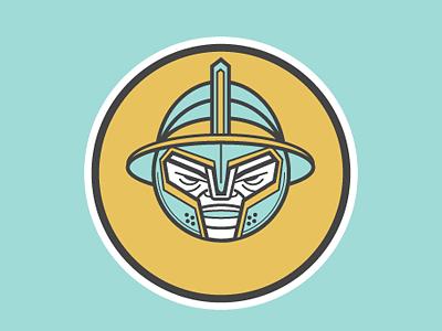 G Gladiateur picto illustration character design alphabet