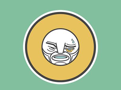 B Boxer picto illustration character design alphabet