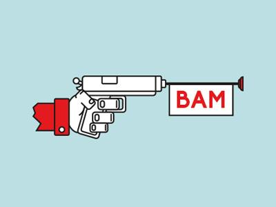 Facebook Bam illustration studio bambam facebook icon