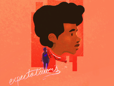 Expectations miles morales spiderman into the spiderverse illustration