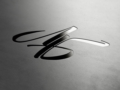 Monogram Lettering lettering monogram cyrillic calligraphy