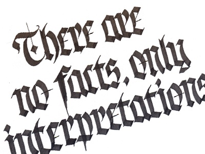 Daily Quote, five calligraphy lettering gothic inspiration parallel pen quillcraft design type latin practice