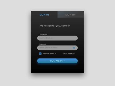 Day001 design interface form login ui 100ui