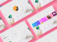 Smart wall concept ui