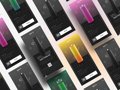 UI Exploration dribbble muzli trendy inspiration colorful blender3d aftereffects xd app ui shot 2021 design concept ui