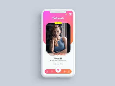 Dating App Ui Concept
