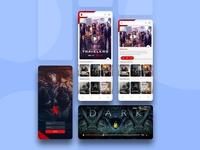Netflix Concept UI Design