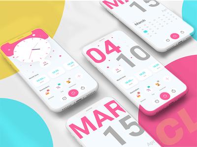 Clock Concept UI