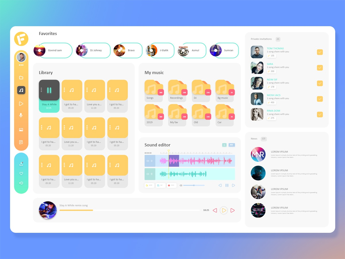 Online File Manager Concept UI by Aneesh on Dribbble