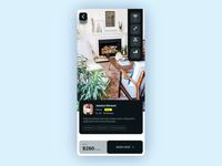 AR Room Rent App Concept