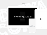 jitumistry.studio Coming Soon Design