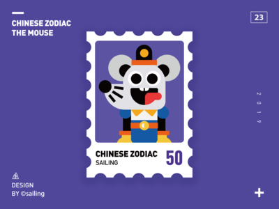 Chinese zodiache-mouse