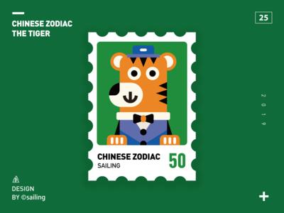 Chinese zodiac-tiger