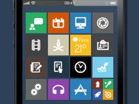 IOS7 Flat design