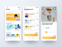 Fashion shopping mobile app