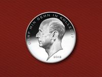 Kandinsky Trio Coin Detail 1