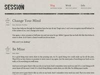 Session Blog Theme