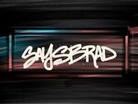 SaysBrad Concepts app sketch