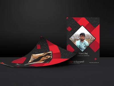 TEDxSriSairamIT Speaker Reveling Poster