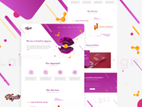Krysta-Digital Agency |  UI & Website Design