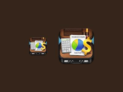 Briefcase Icon briefcase iphone ios calculator