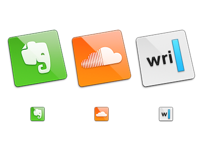 Square Icons square icon icons twitter evernote soundcloud ia writer