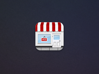 Store Hours Retina store hours iphone icon