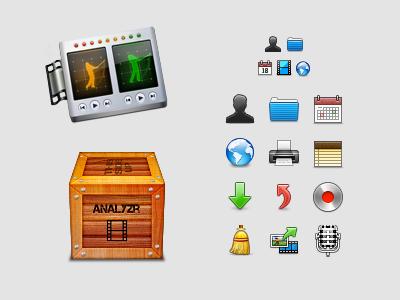 Analyzr Work icon pixel analyzr icons