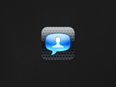 Chat Icon chat iphone icon bubble