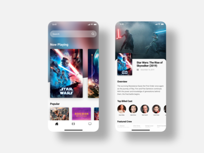 The Movie DB Mobile App Concept