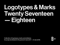 Logotypes & Marks 2017 — 2018
