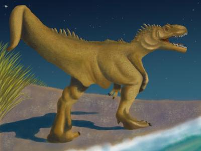 Dinosaur digital art