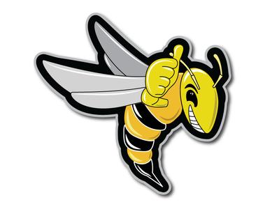 Yellow Jacket Logo Illustration