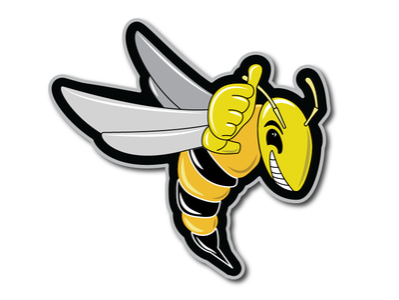 Yellow Jacket Logo Illustration branding logo icon insect vector illustration