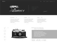 ZORKY   Landing page