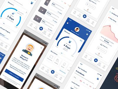 Galvanize mobile app ui branding ux