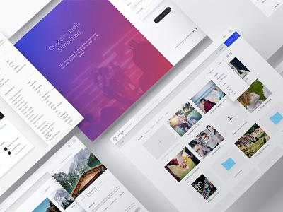 Media Manager design website webapp ux ui
