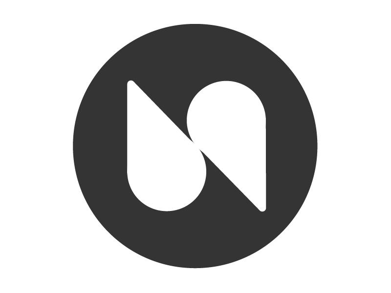 Nate Schloesser Logo de novo portfolio branding logo