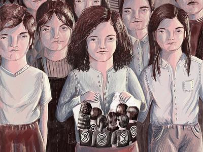 Illustration for Lenny Letter drawing digital illustration pink art editorial illustration