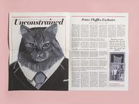 Illustrated Newspaper Spread